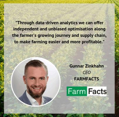 Gunnar Zinkhahn FarmFacts BayWa Soundbite World Agri Tech Innovation Summit