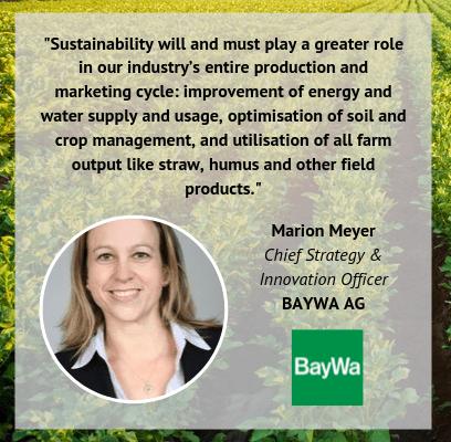 Marion Meyer BayWa soundbite World Agri Tech Innovation Summit